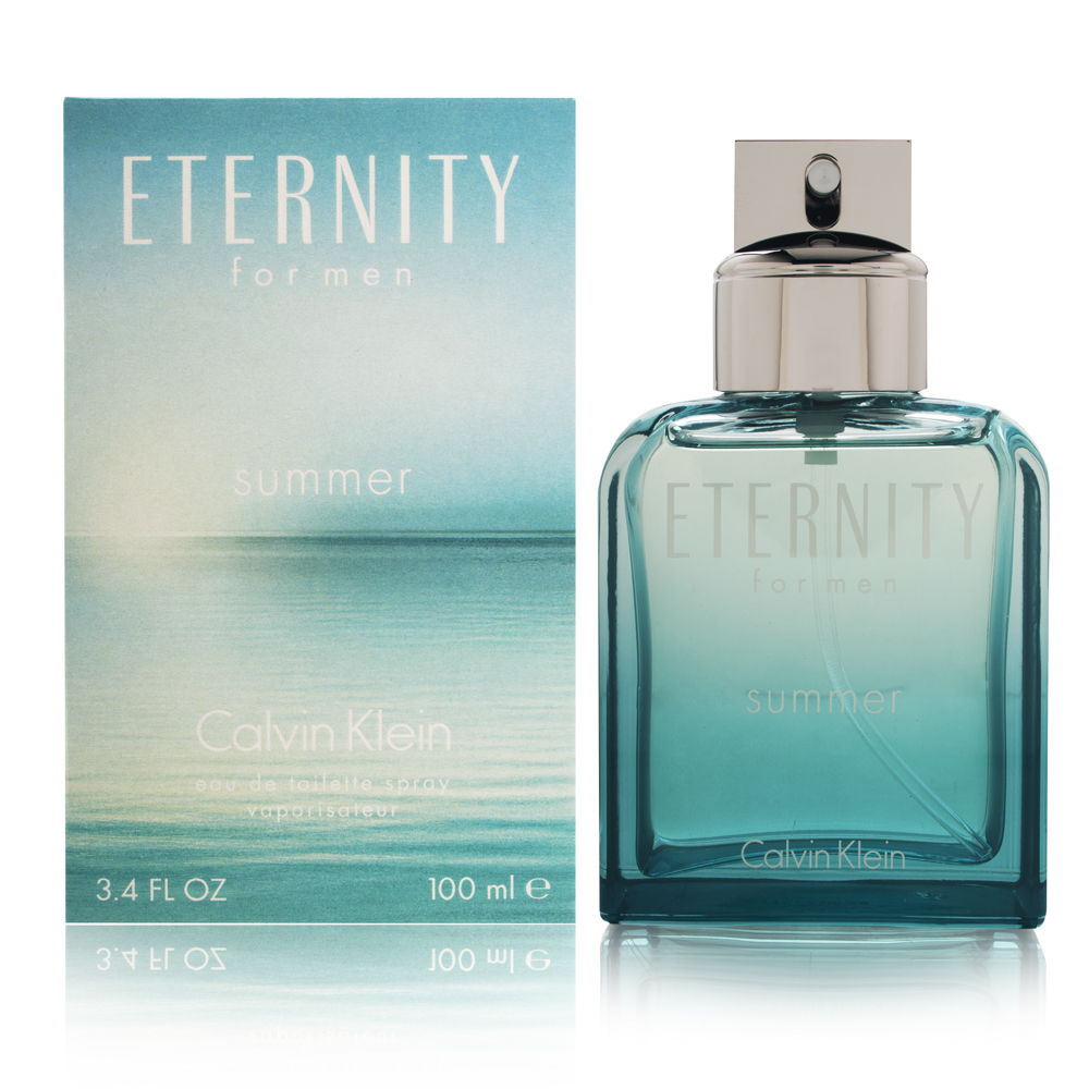 Eternity Summer by Calvin Klein for Men 3.4oz EDT Spray