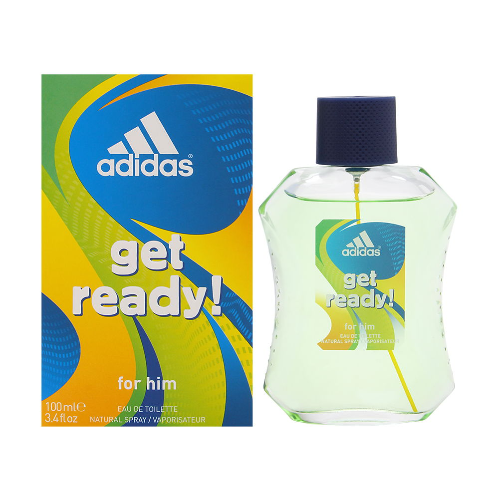Adidas Get Ready! by Coty for Men 3.4oz EDT Spray