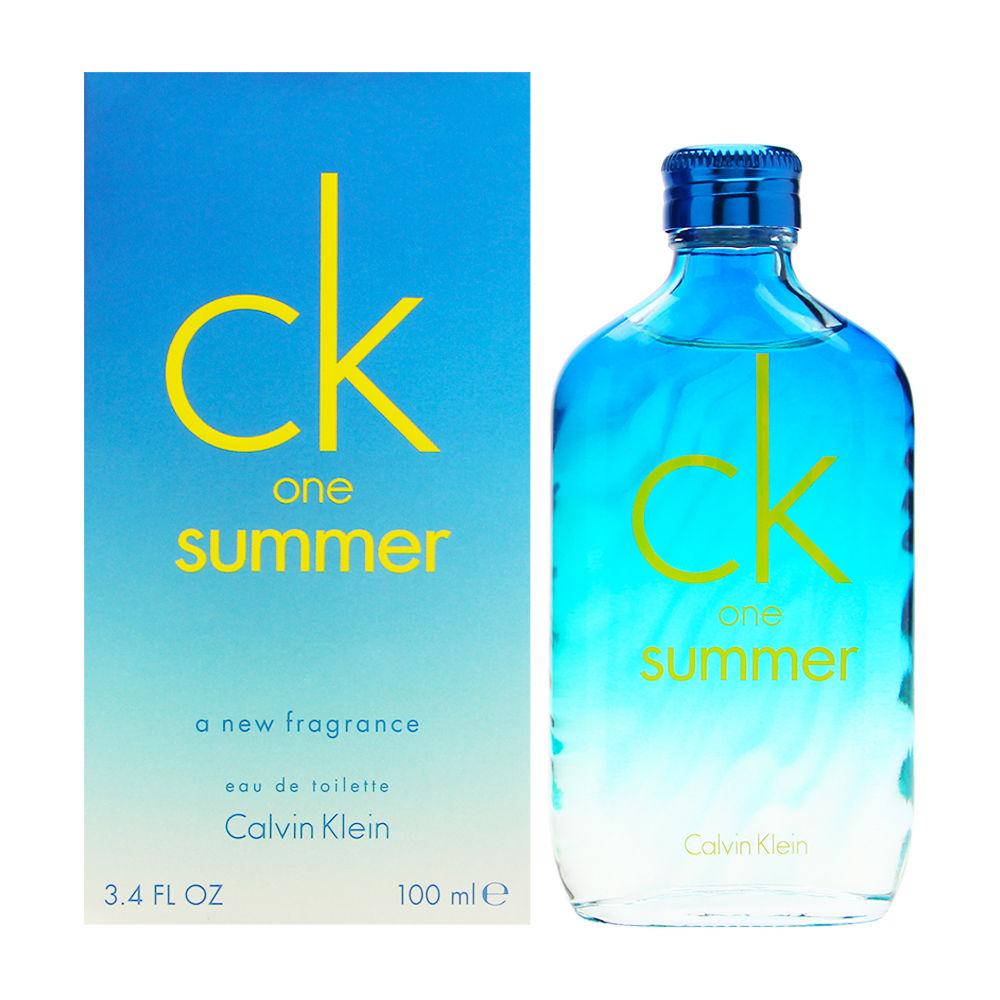 Coty CK One Summer by Calvin Klein 3.4oz EDT Spray Shower Gel