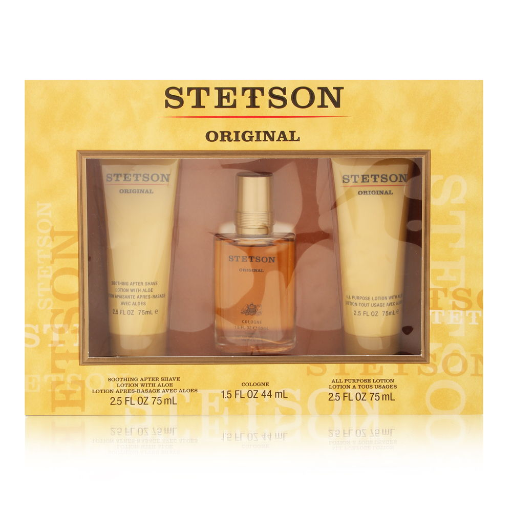 Stetson by Coty for Men 1.5oz Cologne Aftershave Gift Set