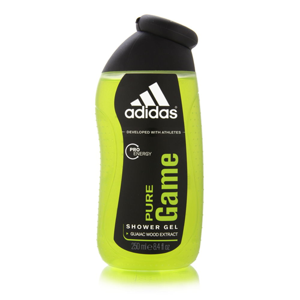 Adidas Pure Game by Coty for Men 250ml 8.4oz Shower Gel