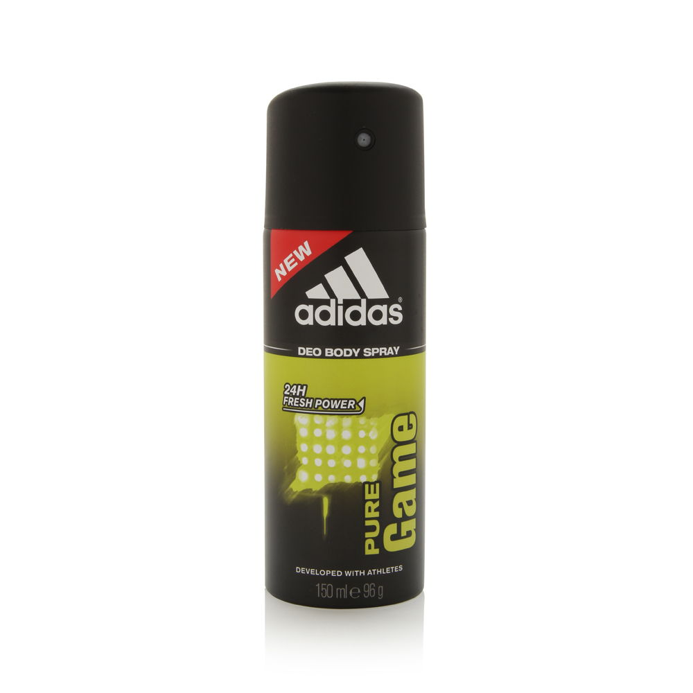 Adidas Pure Game by Coty for Men 150ml Spray Deodorant