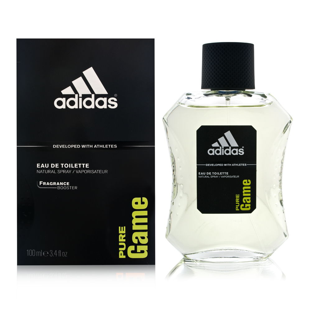 Adidas Pure Game by Coty for Men 3.4oz EDT Spray Shower Gel