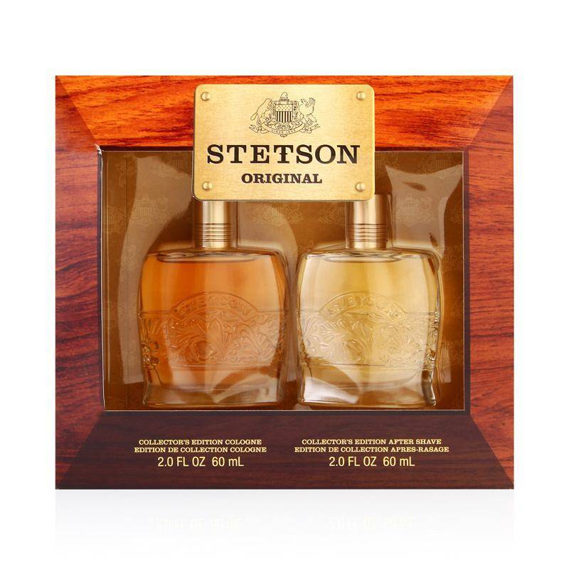Coty Stetson by Stetson for Men 2.0oz Cologne Aftershave Gift Set