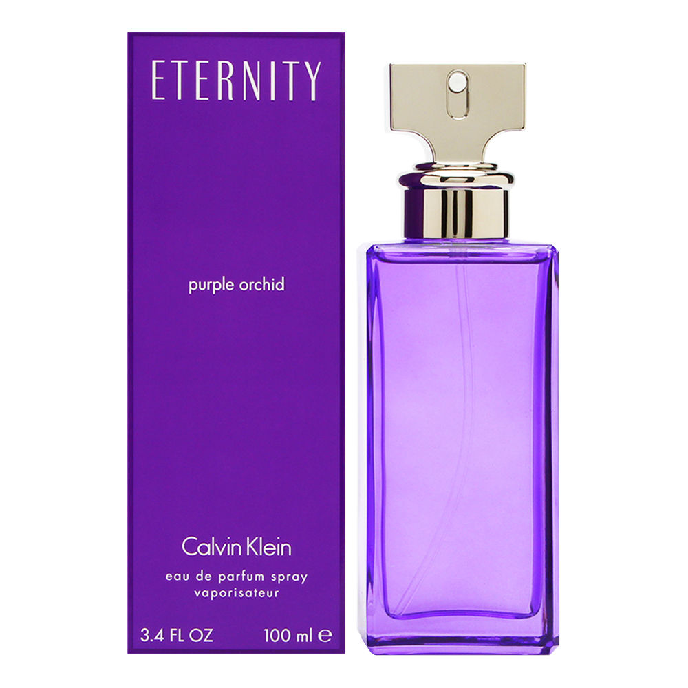 Coty Eternity Purple Orchid by Calvin Klein for Women 3.4oz EDP Spray Shower Gel
