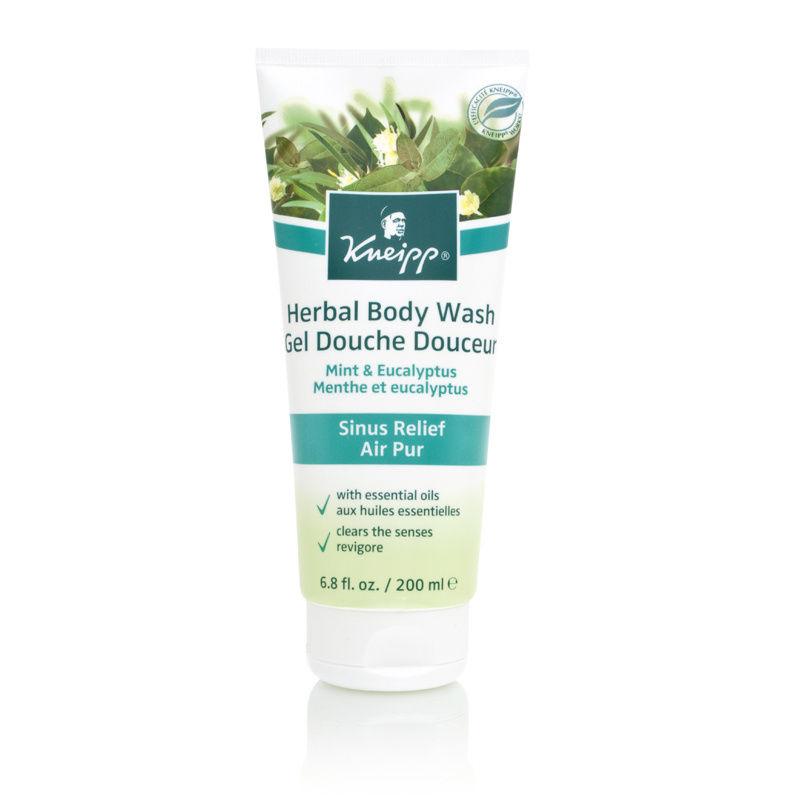 Kneipp Mint & Eucalyptus Sinus Relief Air Pur Herbal Body Wash