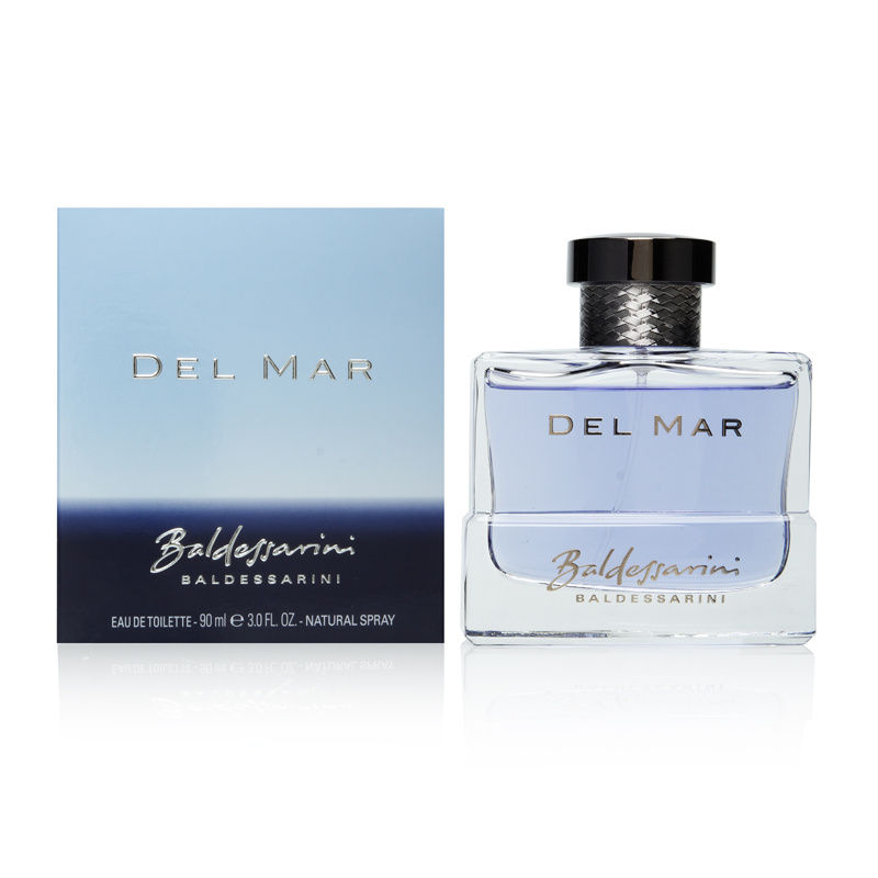 Baldessarini Del Mar by Hugo Boss for Men 3.0oz EDT Spray Shower Gel