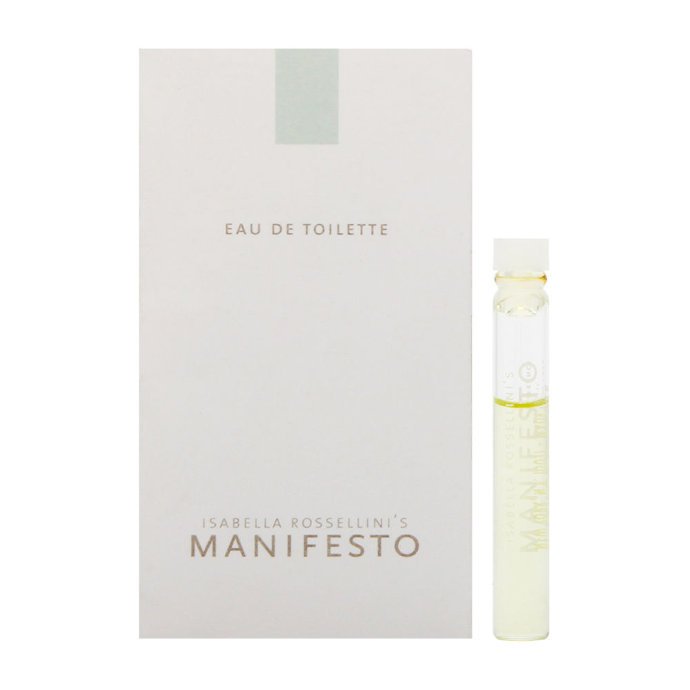 Manifesto by Isabella Rossellini for Women
