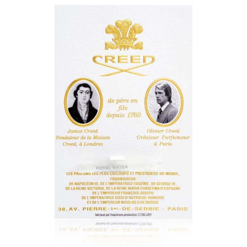 Creed Royal Water for Men 0.05oz Cologne