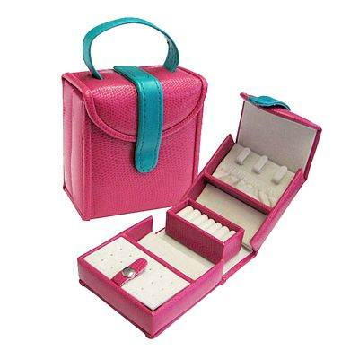 Seya Pink Jewelry Purse Box (081432383671 Accessories Jewelry Box) photo