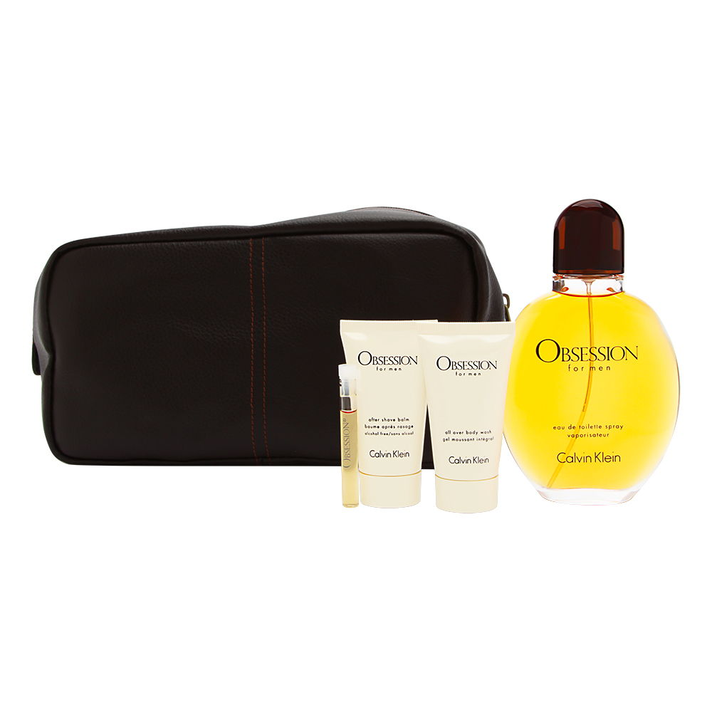 Obsession by Calvin Klein for Men 4.0oz EDT Spray Gift Set