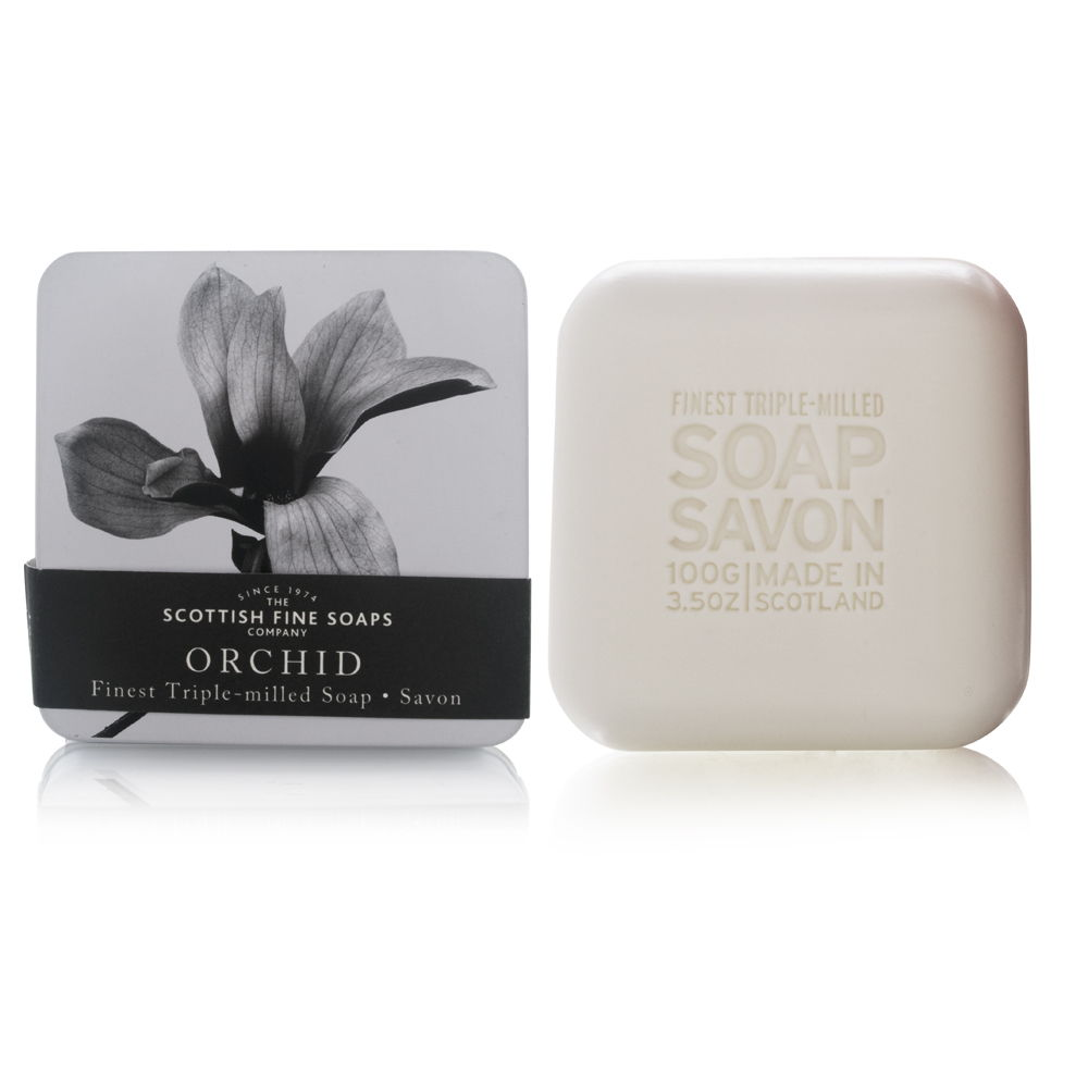 Scottish Fine Soaps Triple Milled Soap in a Tin Orchid at Sears.com
