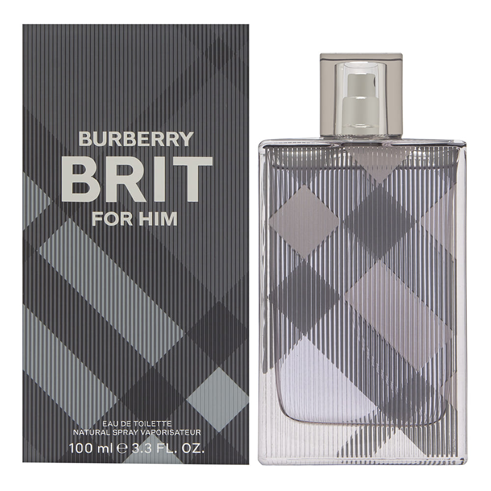 Burberry Brit by Burberry for Men 3.3oz EDT Spray Shower Gel