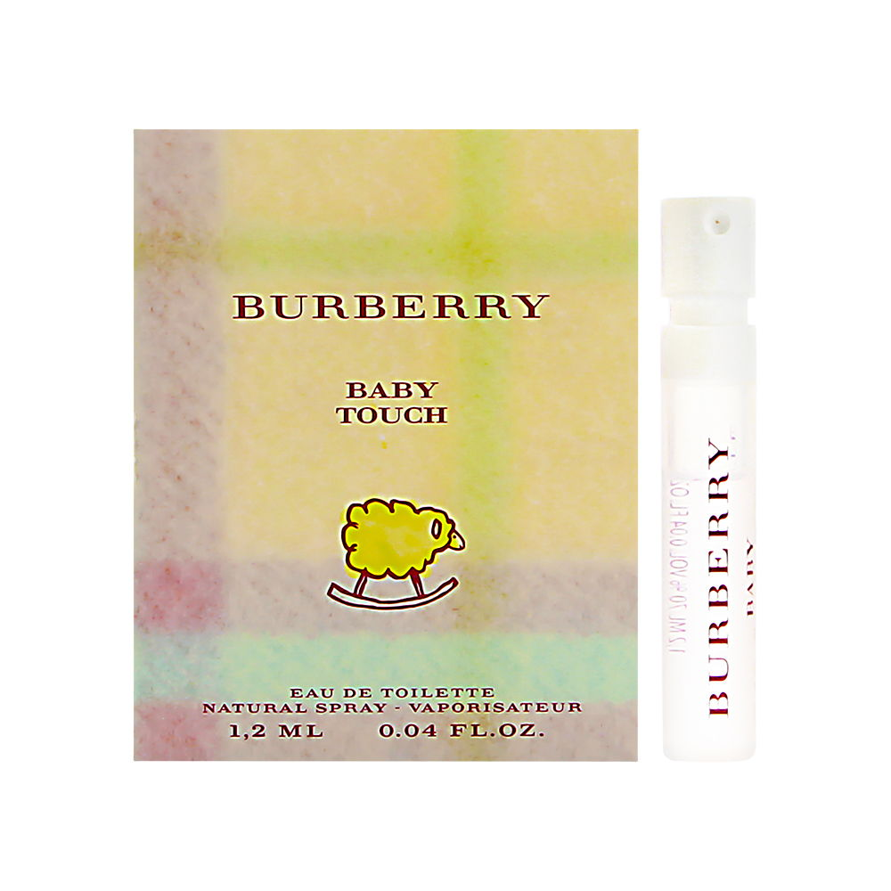 Burberry Baby Touch by Burberry 0.04oz EDT Spray Shower Gel