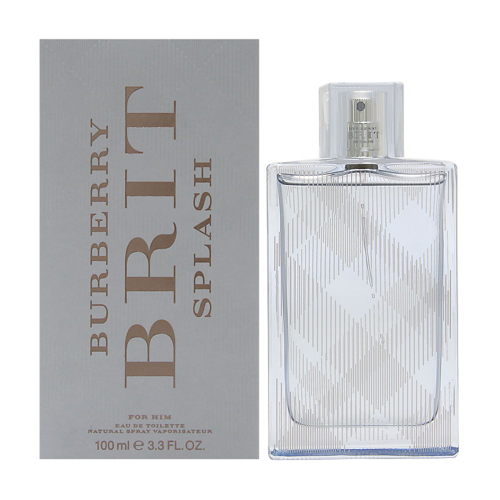 Burberry Brit Splash for Men 3.3oz EDT Spray