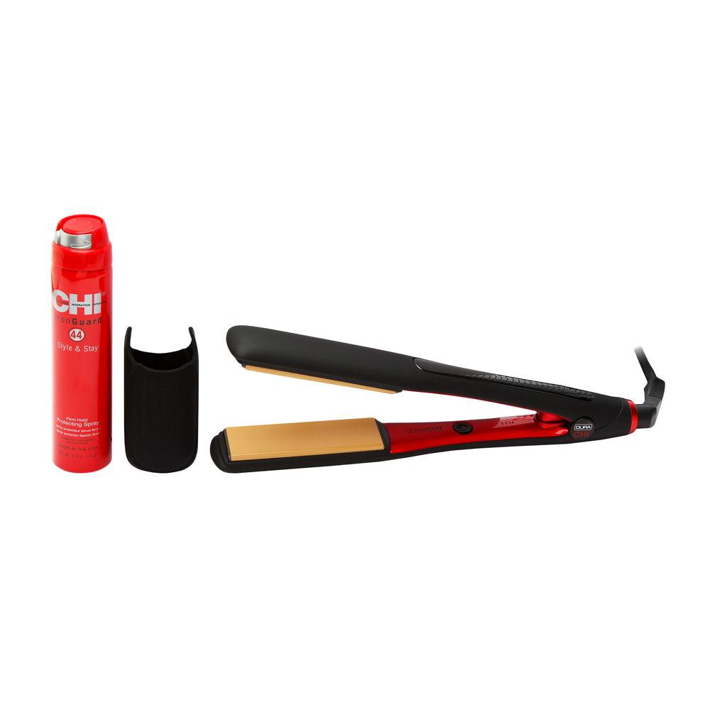 CHI Farouk Dura 1-1/4 Inch Ceramic and Titanium Infused Hairstyling Iron