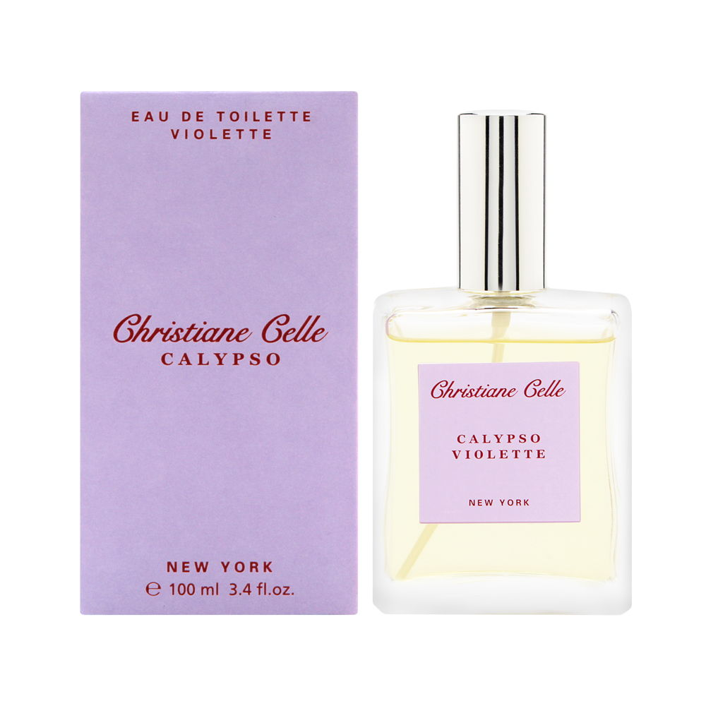 Christiane Celle Calypso - Violette 3.4oz EDT Spray Shower Gel