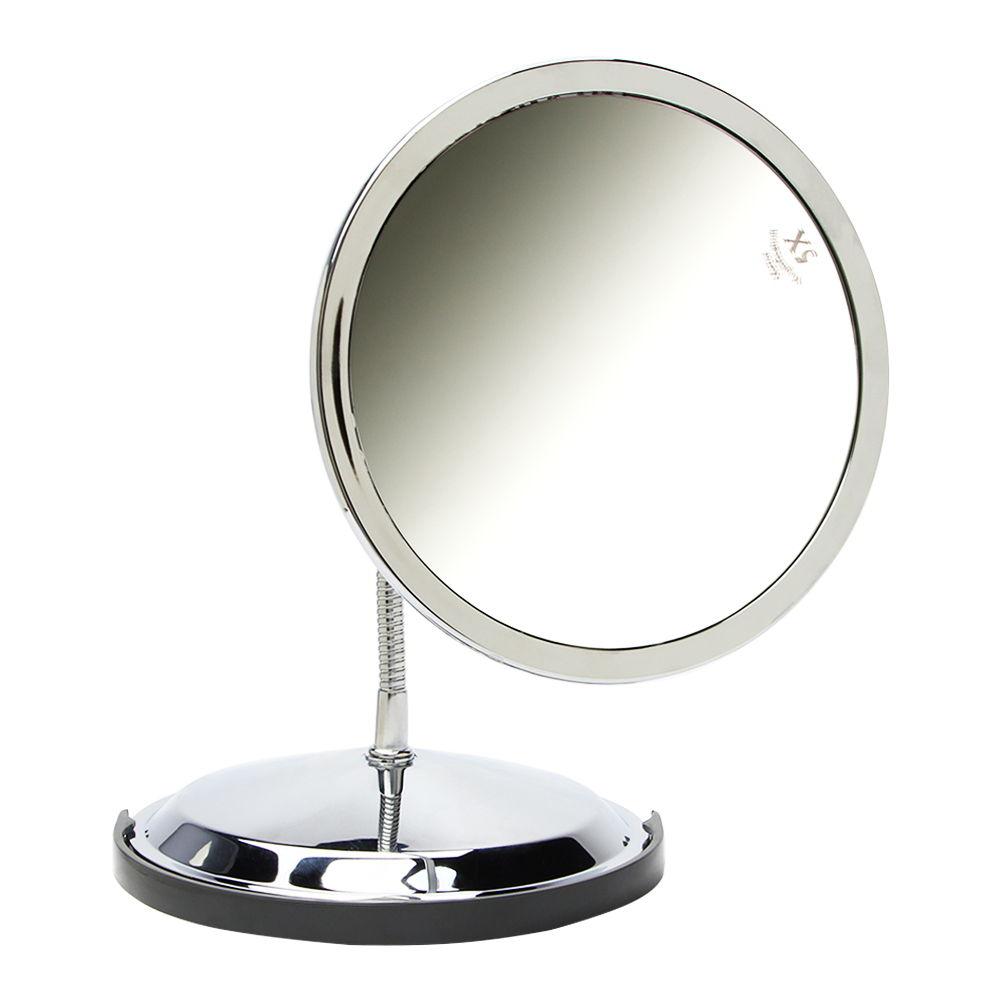 Zadro 10x/5x Double Vision Gooseneck Chrome Vanity Mirror