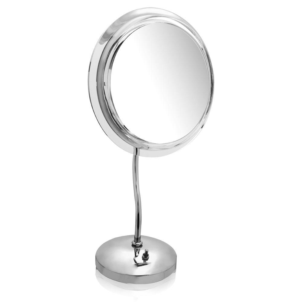Zadro S Neck Pedestal Chrome Mirror 9