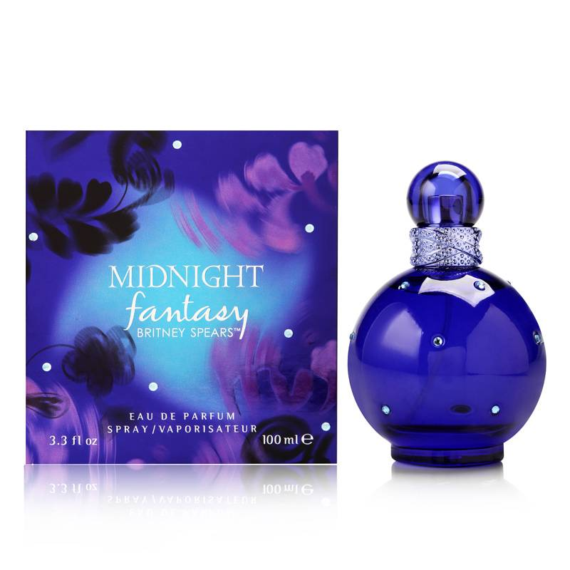 Elizabeth Arden Midnight Fantasy by Britney Spears for Women 3.3oz EDP Spray Shower Gel