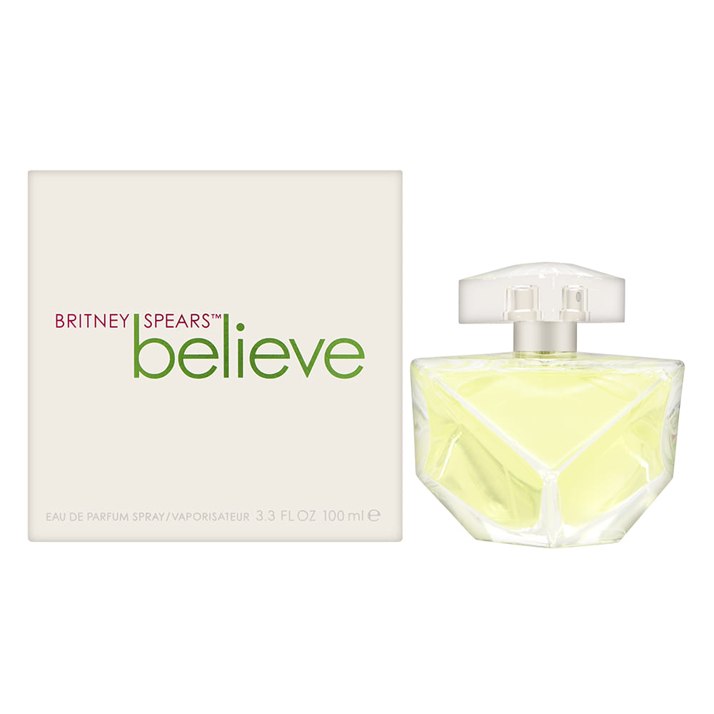 Believe by Britney Spears for Women 3.3oz EDP Spray Shower Gel