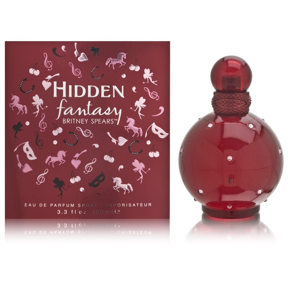 Hidden Fantasy by Britney Spears for Women 3.3oz EDP Spray Shower Gel