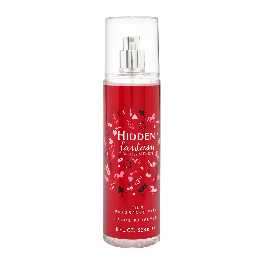 Elizabeth Arden Hidden Fantasy by Britney Spears for Women 8.0oz Spray Shower Gel