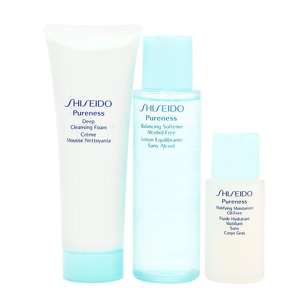 Shiseido Pureness Oil Control 1 2 3 Set