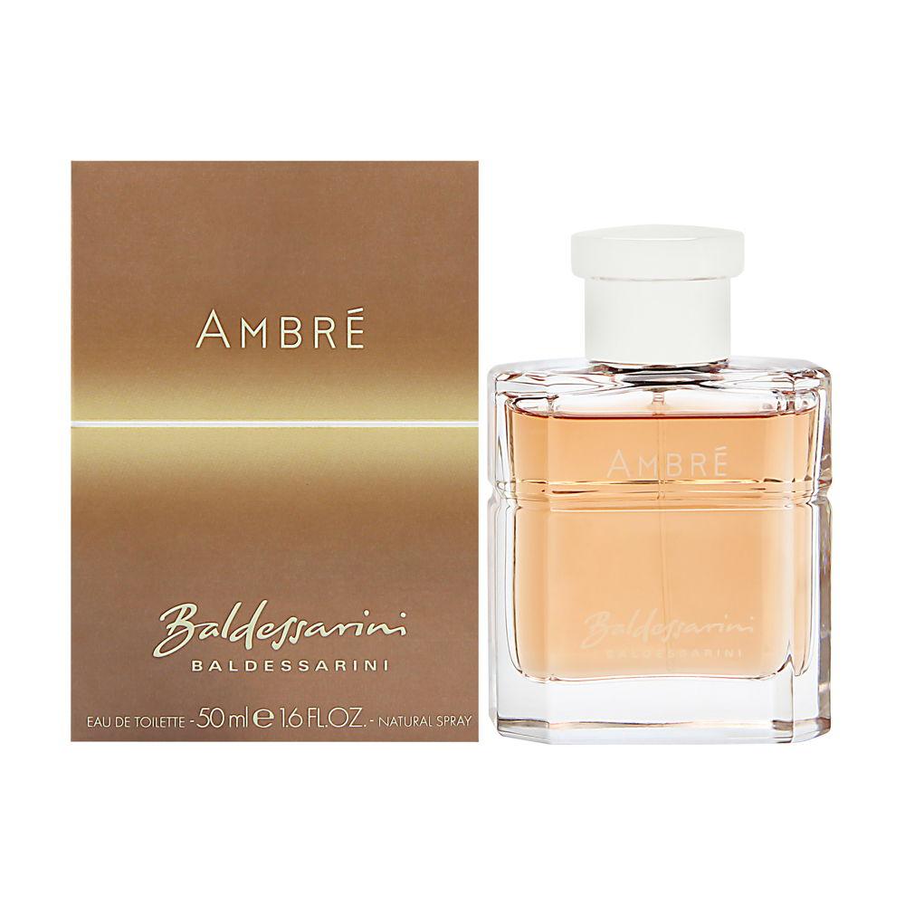 Baldessarini Ambre by Hugo Boss for Men 1.6oz EDT Spray Shower Gel