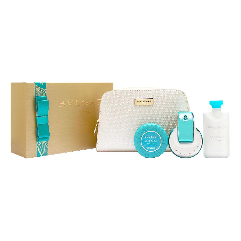 Bvlgari Omnia Paraiba for Women 2.2oz EDT Spray Gift Set
