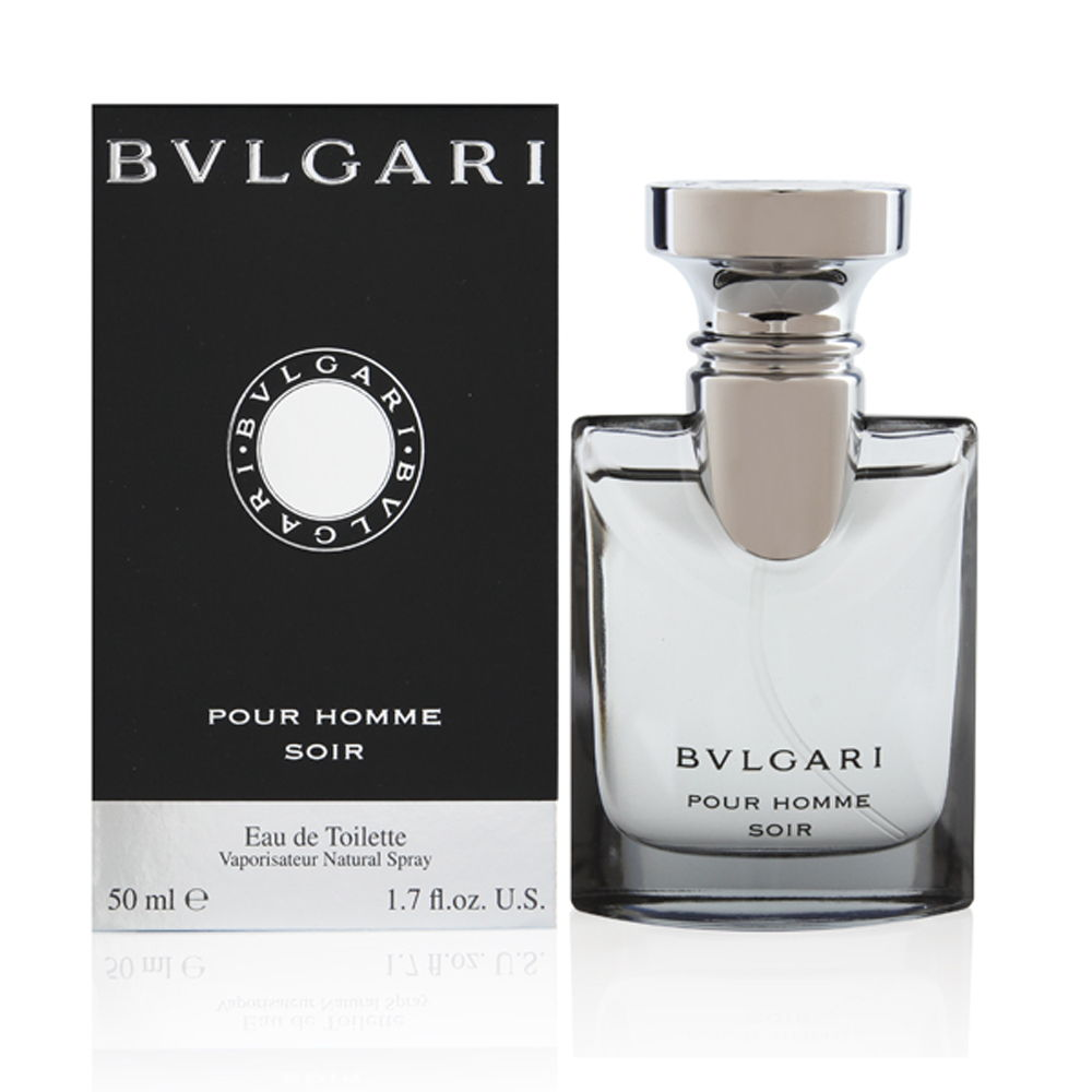 Bvlgari Pour Homme Soir by Bvlgari for Men 1.7oz EDT Spray Shower Gel