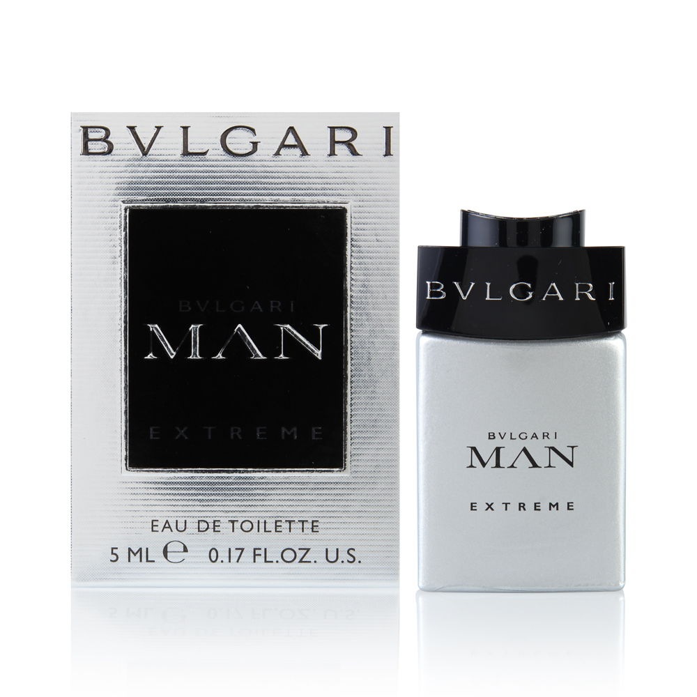 Bvlgari Man Extreme by Bvlgari  men 0.17oz Cologne EDT