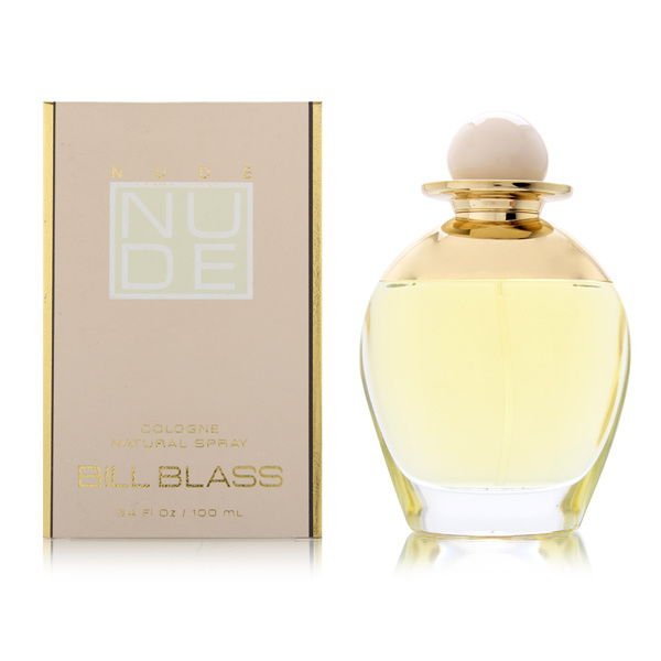 Nude by Bill Blass for Women 3.4oz Cologne Spray Shower Gel