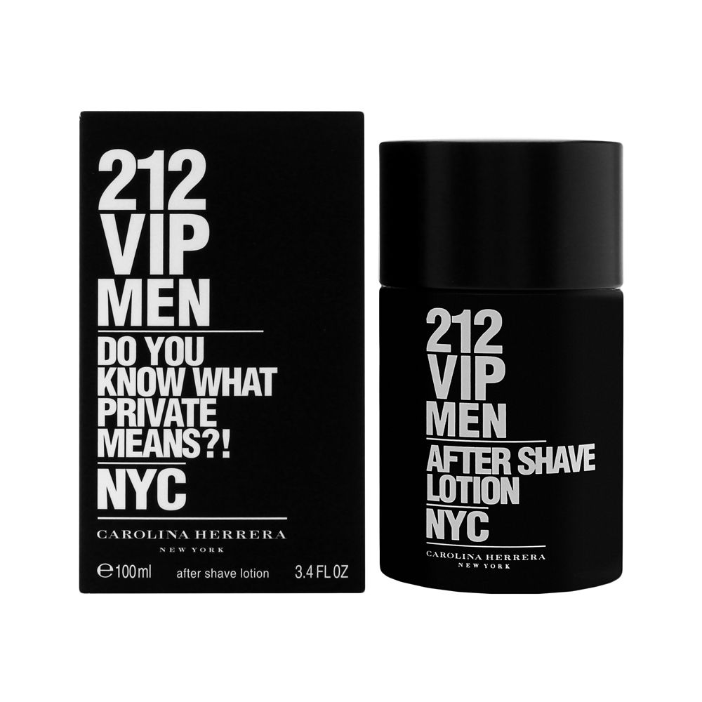 212 VIP Men by Carolina Herrera 3.4oz Aftershave