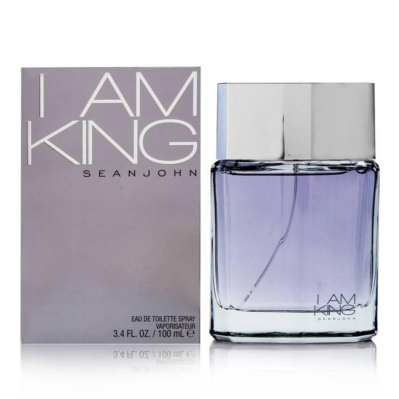 I Am King by Sean John Fragrances for Men 3.4oz EDT Spray Shower Gel
