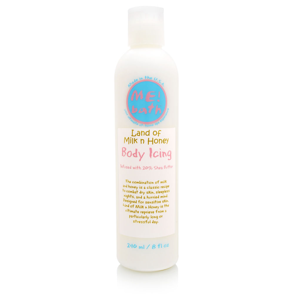ME! Bath Me Bath Body Icing Infused with 20 Shea Butter 8.0 oz - Land of Milk N Honey at Sears.com