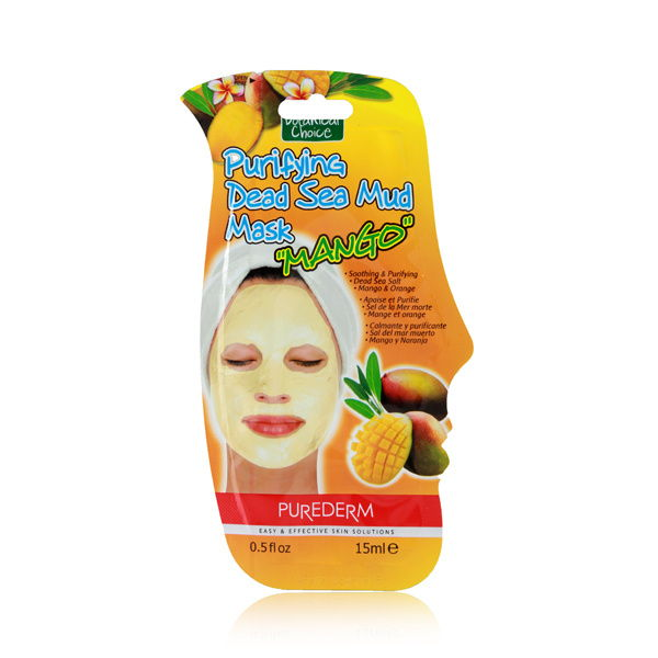 Purederm Botanical Choice Purifying Dead Sea Mud Mask - Mango