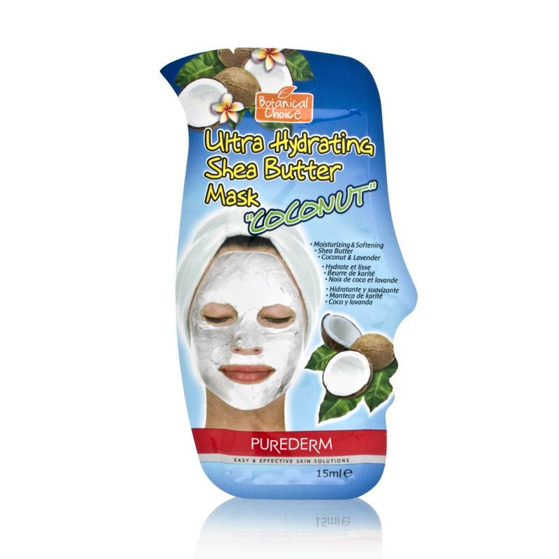 Purederm Botanical Choice Ultra Hydrating Shea Butter Mask - Coconut