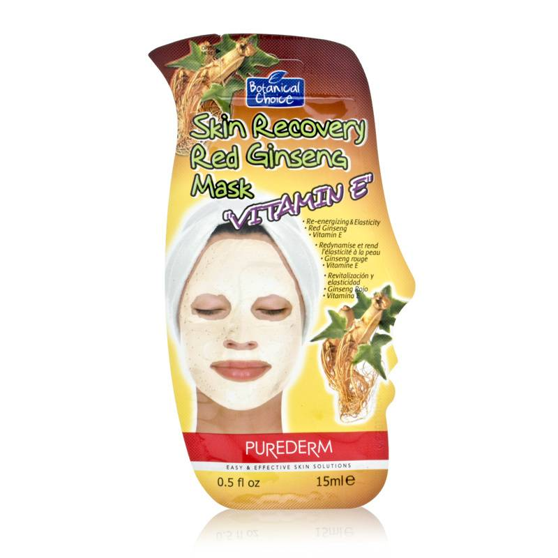 Purederm Botanical Choice Skin Recovery Mask with Vitamin E - Red Ginseng 15ml/0.5oz at Sears.com