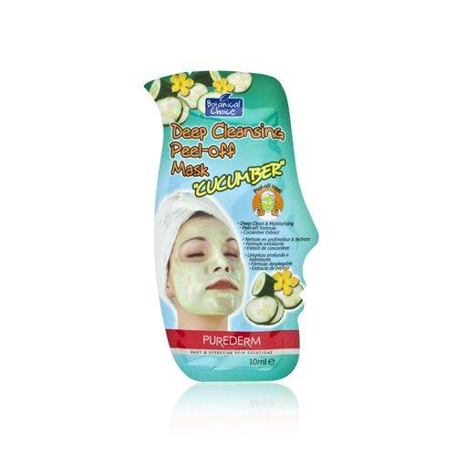Purederm Botanical Choice Deep Cleansing Peel-Off Mask - Cucumber
