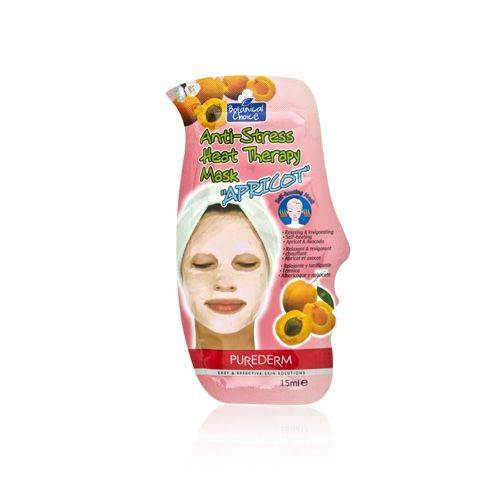 Purederm Botanical Choice Anti-Stress Heat Therapy Mask - Apricot