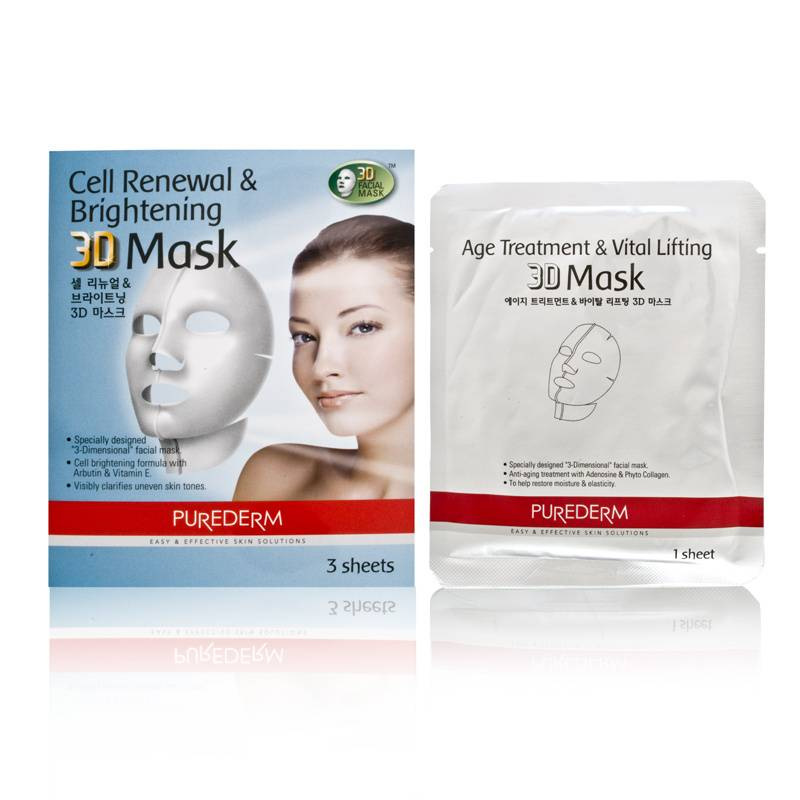 Purederm Cell Renewal & Brightening 3D Mask