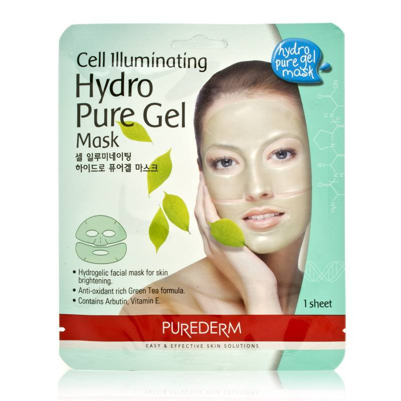 Purederm Illuminating Hydro Pure Gel Mask