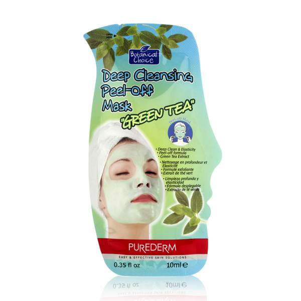 Purederm Botanical Choice Deep Cleansing Peel-off Mask - Green Tea
