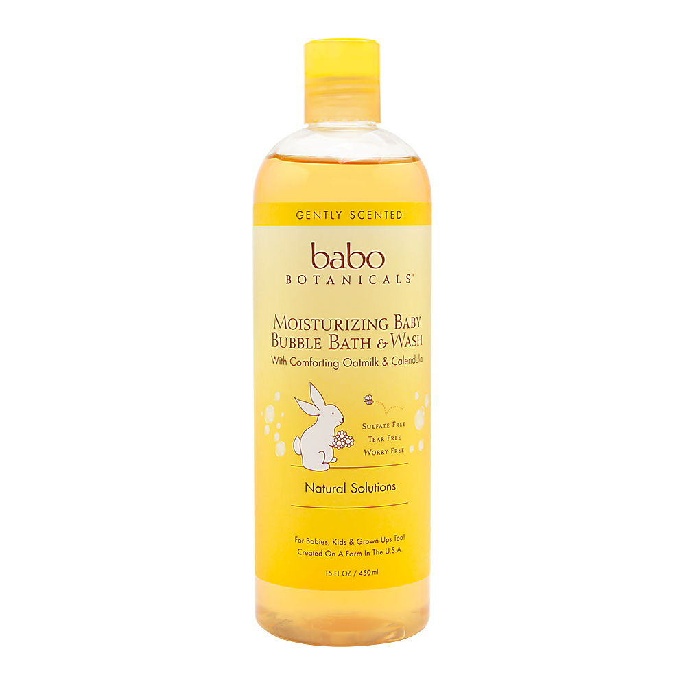 Babo Botanicals Moisturizing Baby Bubble Bath &
