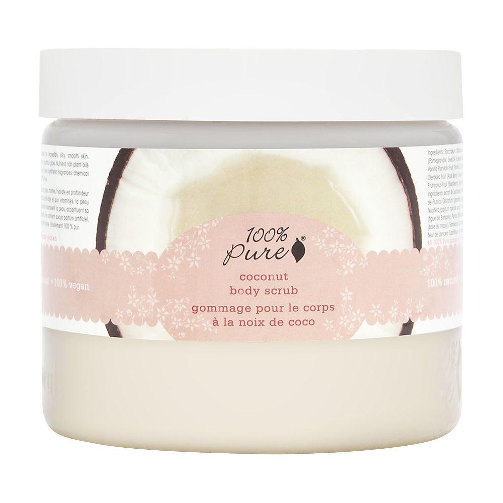 100% Pure Body Scrub - Coconut