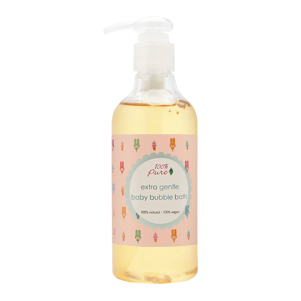 100% Pure Extra Gentle Baby Bubble Bath