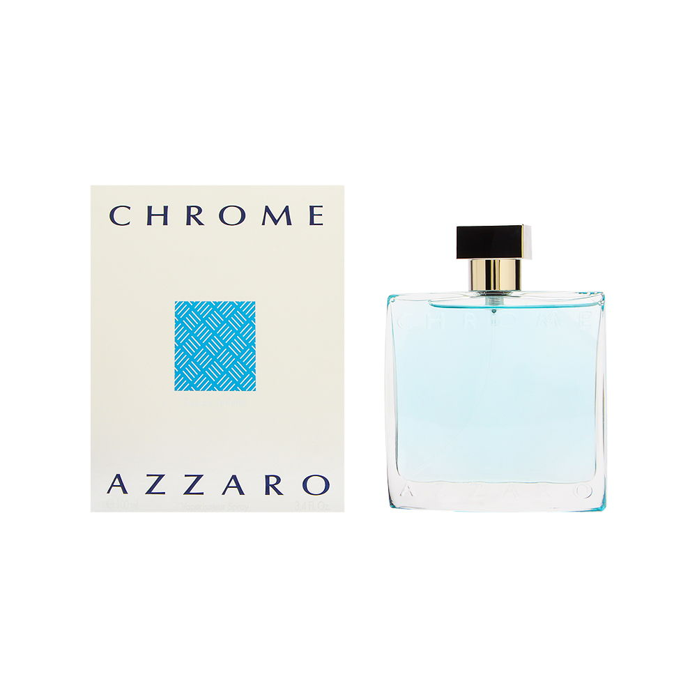 Chrome by Loris Azzaro for Men 3.4oz EDT Spray Shower Gel