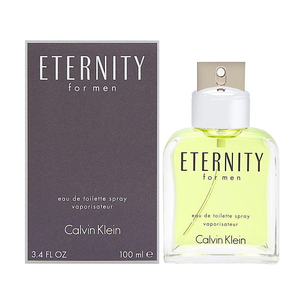 Eternity by Calvin Klein for Men 3.4oz EDT Spray Shower Gel