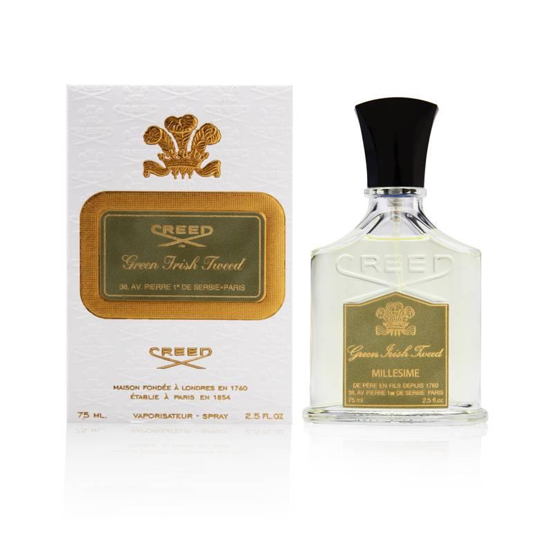 Creed Green Irish Tweed 2.5oz EDP Spray Shower Gel